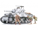 tamiya 1:35 US Sherman M4A3 105mm Haub. (9)