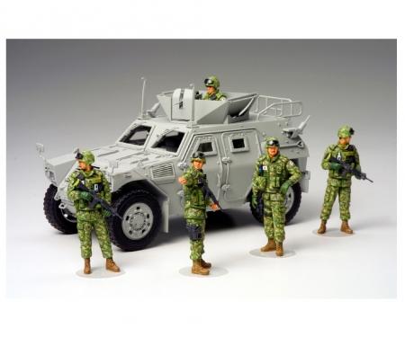 tamiya 1:35 JGSDF Fig.-Set Human.Assist.Team(5)