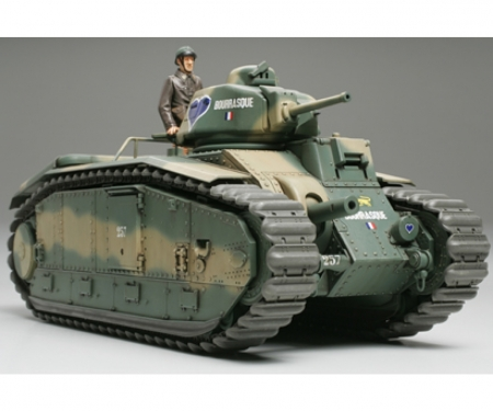 tamiya 1:35 WWII French MBT B1 bis (1)
