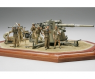 tamiya 1:35 WWII Dt. 88mm Flak36 Nord Afrika(8)