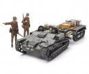 tamiya 1:35 WWII French Arm. Carrier w/Trai.(4)