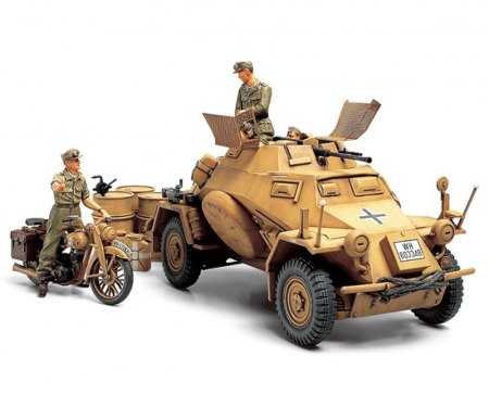 1:35 WWII SdKfz.222 Arm.Veh. Nor.Afr.(3)