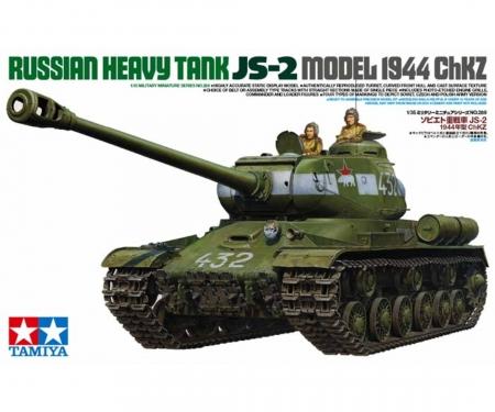 1:35 WWII Sov. Hea.MBT JS-2 ChKz (2)