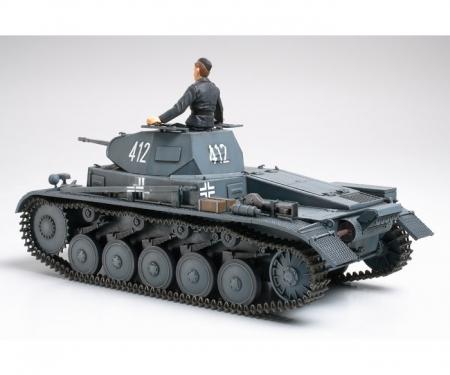 tamiya 1:35 Ger. PzKpfw. II Ausf. A/B/C (1)