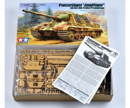 tamiya 1:35 WWII Ger.Tank Destr.Jagdtiger Ea(2)