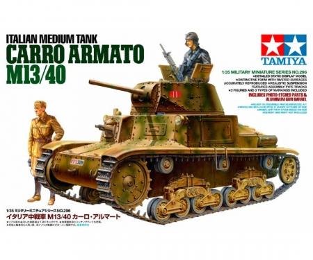 tamiya 1:35 Ital. MTk. Carro Armato M13/40 (2)
