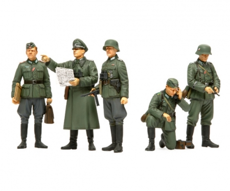 tamiya 1:35 Fig-Set Ger. Field Commander (5)