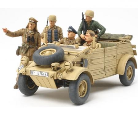 tamiya 1:35 Ger.Kuebelwagen T82 Ramcke (5)