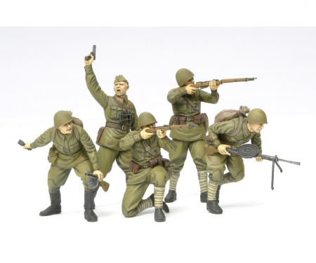 tamiya 1:35 WWII Fig.-Set Rus. Sturmtruppen (5)