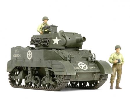 1:35 WWII U.S.M8 Haubitze m.Figuren (3)