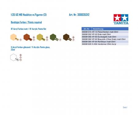 tamiya 1:35 US M8 Haubitze m.Figuren (3)
