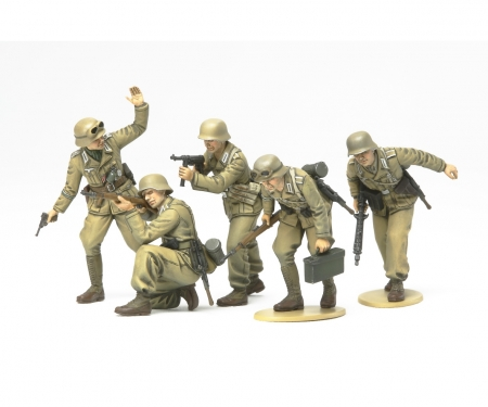 tamiya 1:35 WWII Fig.-Set Ger.Africa Corps Inf.