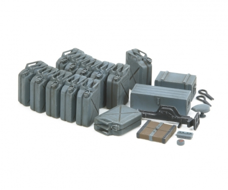 tamiya 1:35 WWII Ger.Jerry Can Set (12) Early
