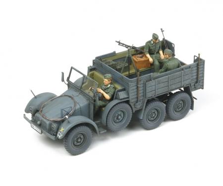 tamiya 1:35 Ger. Cargo Truck Krupp Protze (3)