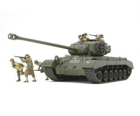 tamiya 1:35 US Panzer T26E4 Super Pershing
