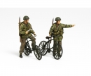 tamiya 1:35 WWII Brit. Paratroop w/ Parabike