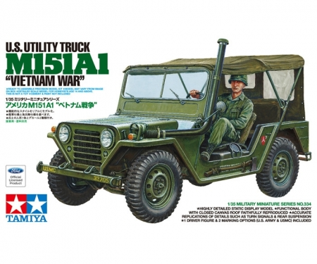 tamiya 1:35 US M151A1 Utility Truck Vietnam