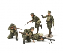 tamiya 1:35 WWI British Infantry Fig.-Set (5)