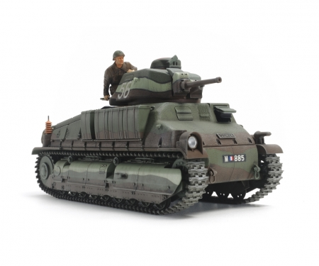 1:35 French Med. Tank SOMUA S35