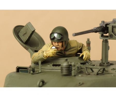 tamiya 1:35 US M4A3E8 Sherman Easy Eight Euro