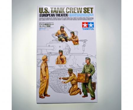 tamiya 1/35 US Tank Crew Euro Theater