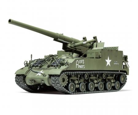 tamiya 1:35 US M40 155mm Howitzer SPG (8)