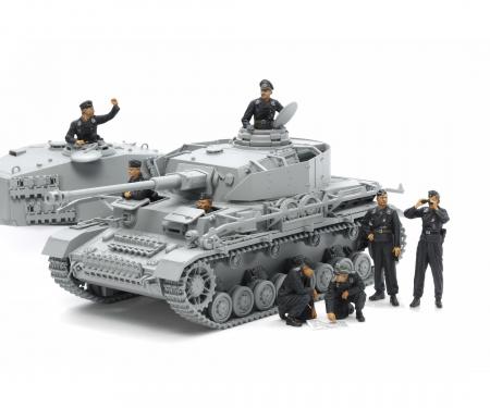tamiya 1/35 German Tank Crew Set