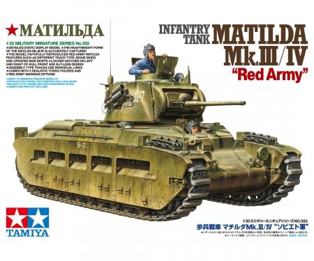 tamiya 1:35 Brit. Pz Matilda Mk.III/IV Red Army