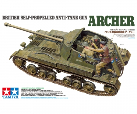 tamiya 1:35 Archer tank destroyer