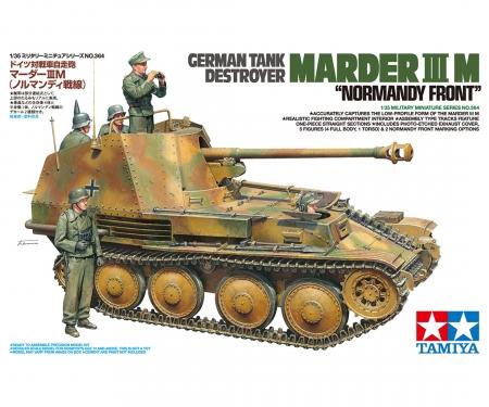 tamiya 1:35 Ger. Marder III M Normandy
