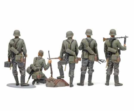 tamiya 1:35 Fig-Set Dt. Infanterie 1941/42 (5)