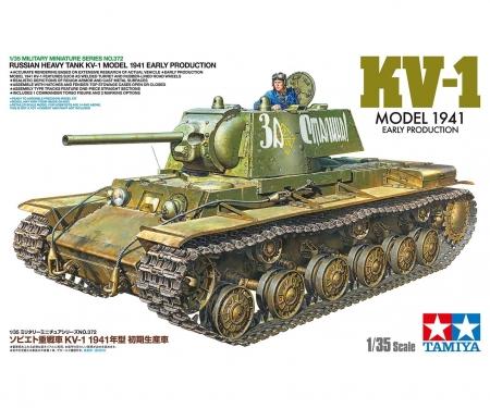 tamiya 1:35 Rus. Panzer KV-1 1941