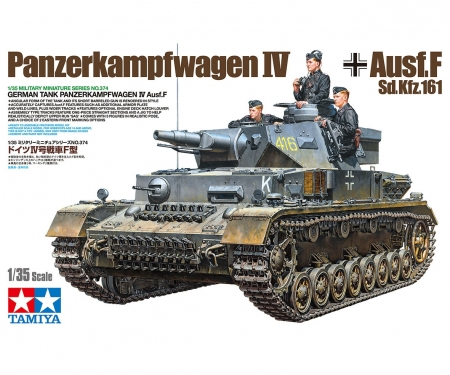 tamiya 1:35 Ger. Battle Tank IV F L24/75mm
