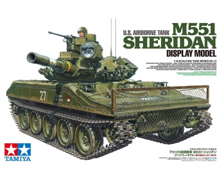 tamiya 1/16 M551 Sheridan (Display)