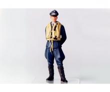 tamiya 1:16 WWII Figure Luftwaffe Ace Pilot