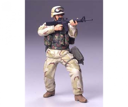tamiya 1:16 Figure US Infan.Man Desert Uniform