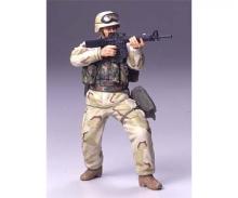 tamiya 1:16 Figure US Infan.Man Desert Uniform