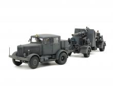 tamiya 1:48 Zgm. SS-100 m. 88mm Flak37 Set