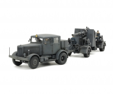 tamiya 1:48 Zgm. SS-100 m. 88mm Flak37 Set
