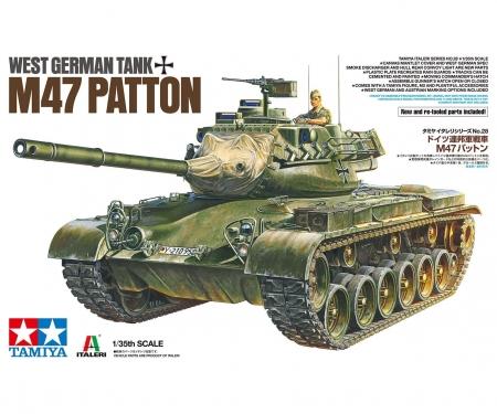 tamiya 1:35 Dt. M47 Kampfpanzer