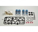 tamiya TRF Special Damper Set Hard Bl.coated(4)