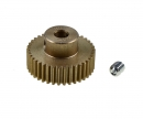 TRF M0.4 Alu.Pinion Gear 38T Hard coat.
