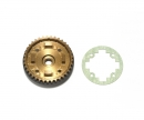 37T Alu Diff Pulley