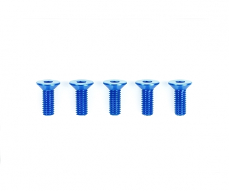 tamiya 3x8mm HG Alu CSHH Screw Blu *5
