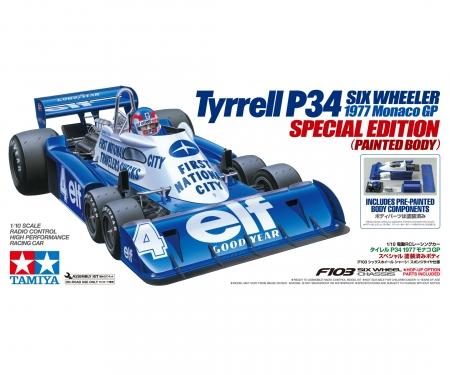 tamiya 1:10 RC Tyrrell P34 Monaco lack.Kar.