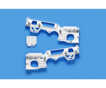 WR-02CB D-Teile Chassis Weiss