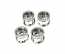 tamiya WR-02CB T Parts Rims Chrome