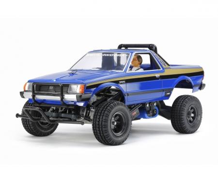 tamiya Subaru Brat Blue