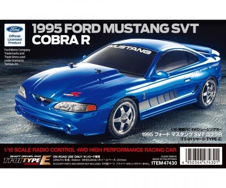 tamiya 1:10 RC Mustang SVT Cobra R '95 (TT-01E)