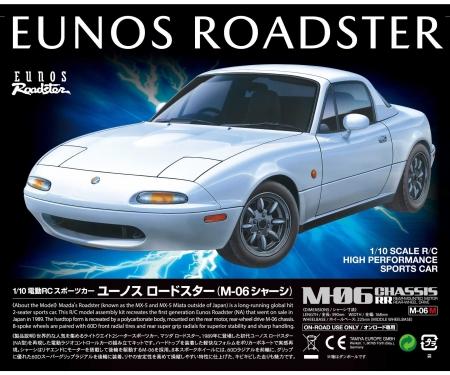 tamiya 1:10 RC Eunos Roadster (M-06)